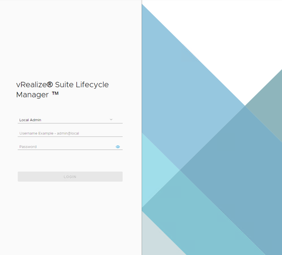 vRealize Lifecycle Manager