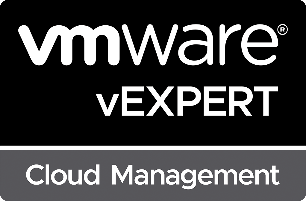 vExpert Cloud Management sub-program